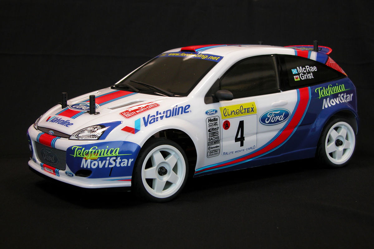 The Rally Legends Ford Focus Wrc 1 10 Rc Body Miniland