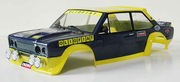 Fiat 131 rally Olio Fiat, factory painted body with decal sheet
