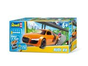 Revell Audi R8, Build & Play 1/25, helppo kasata