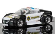 Scalextric Team Cops 'n' Robbers Police Car 1/32