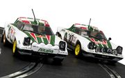 Scalextric Lancia Stratos 1976 Rally Champions Twin Pack 1/32