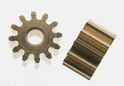 Slot It pinion 12th, 6,75mm diameter, 2pcs