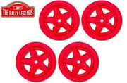 Lancia Stratos wheels red