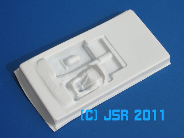 Lexan interior 1/24 with integrated driver figure