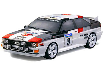 Audi Quattro 1/10 decal set