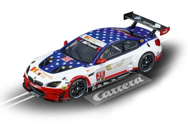 "Carrera Evo BMW M6 GT3 ""Team RLL, No.25"" 1/32"