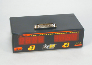 Addition for lap counting box DS-300 for 4 lane track