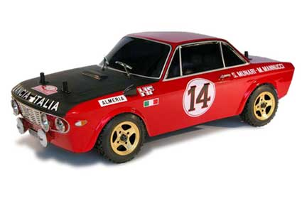 Lancia Fulvia 1600HF 1/10 factory painted body set