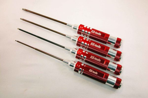 Hex driver 2,5mm with Pro aluminium handle