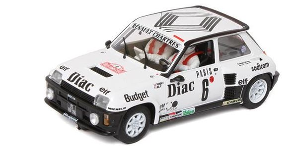 Renault 5 Turbo - Montecarlo 1984 - J.L.Therier/Vial 1/32