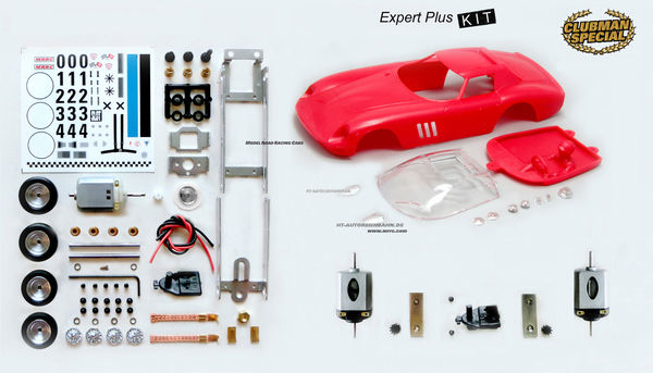 Clubman Special Ferrari 250GTO LM  Expert Plus Kit SELECT DRIVE S-Can Power 3 1/32
