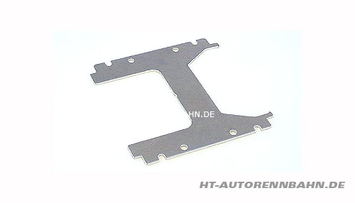 Body mounting H-plate alu Plafit Excel chassis
