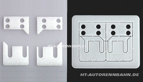 Copy of Axle holder shim 0,8mm Super 24, Scaleauto