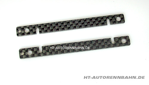 Body mounting plates carbon Plafit SLP2 chassis