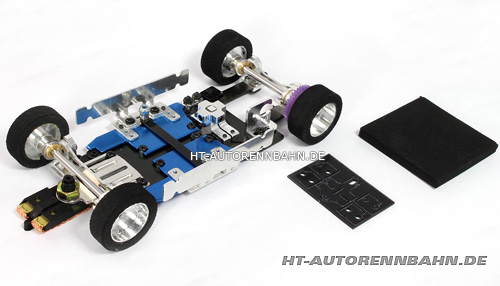 Plafit 4 chassis for 1/24 cars