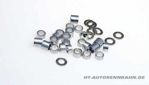 Axle spacers assortment 2,38mm (3/32) axle diameter