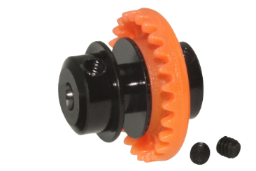 Crown gear 25 teeth for 3/32 axle InLine