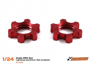 Guide nut Pro alu lightened, 2pcs