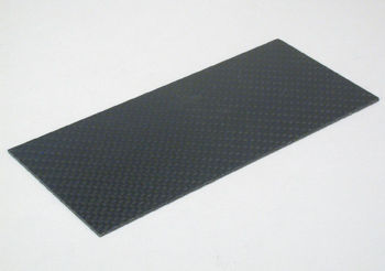 Carbon fibre plate, high quality, 0,3mmx70x150mm