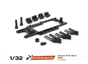 Scaleauto RT-3 Chassis SWB 67-79mm, hard, Rev 3.