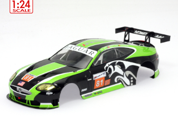 Jaguar XKR RSR painted body kit 1/24