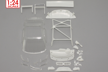 Scaleauto Audi R8 1/24 body spare parts set