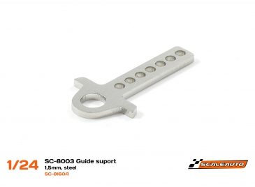 Scaleauto guide holder for SC-8003 chassis, Steel