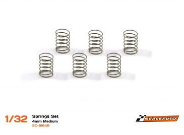 Scaleauto Spring set, medium, 6pcs