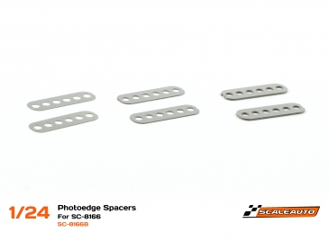 Scaleauto guide holder shims for SC-8003 GT chassis
