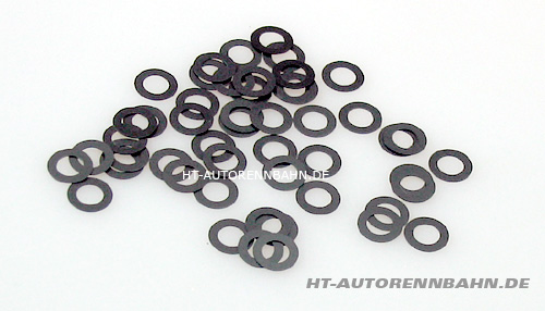 Guide shims 0,25mm 3/16, 1/24 cars