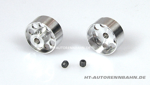 Aluminium wheels Pro Racing 17x6mm, for 3mm axle