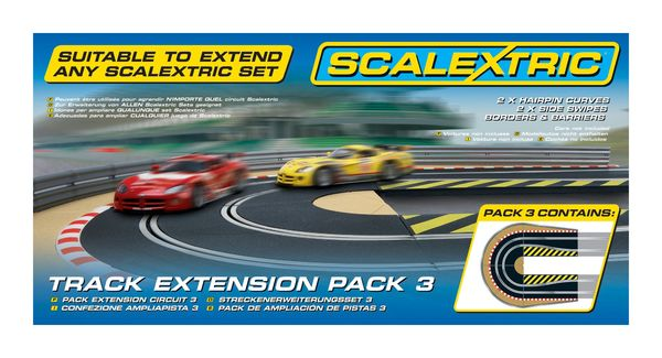 Scalextric track extension pack 3