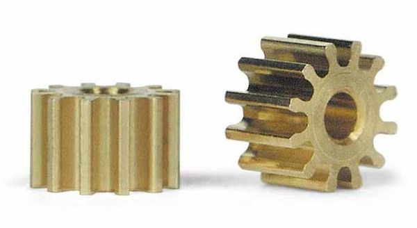 Slot It pinion 12th, 6,5mm diameter, 2pcs