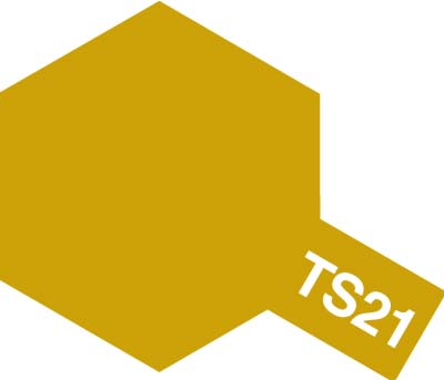 TS21 Spray gold metallic