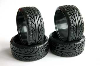 Drifting tires medium hard 4pcs