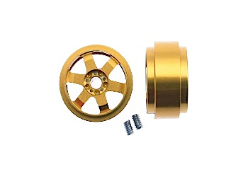 Wheel set Jarama, aluminium 15,8x8.5mm, 3/32 axle, 2pcs