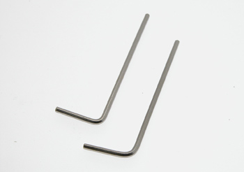 Hex tool 1,5mm 2pcs