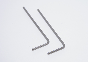 Hex tool 1,3mm, 2kpl (ie. NSR)