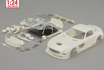 MB SLS GT3 1/24 body set