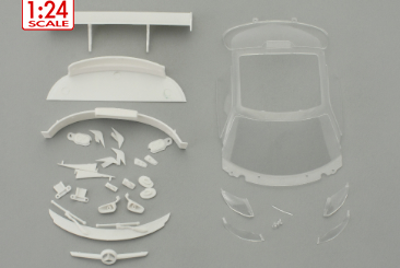 MB SLS 1/24 body spare parts set