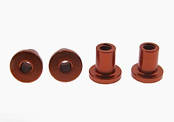 T-nut for suspension aluminium, 4mm, 4pcs