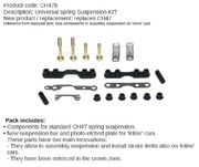Slot It rear suspension set CH47b new model