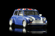 BRM Mini Cooper Blue Union Jack 1/24