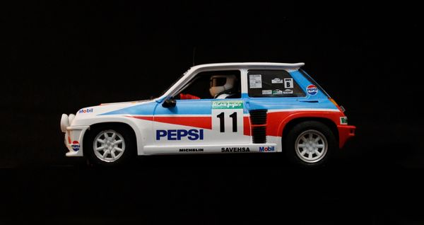 Renault 5 Turbo Rally El Corte Ingles 1986 Blomqvist 1/32