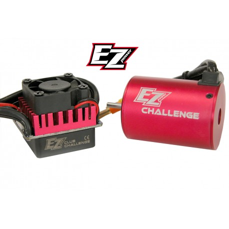 Brushless motor + Speed controller combo Trofeo 17.5T/60A
