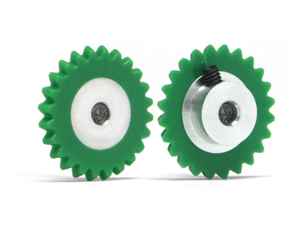 Spur gear AW 24th plastic for 2,38mm axle