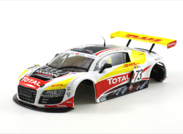 Scaleauto Audi R8 LMS GT3 Spa 2010 DHL 1/24 body set