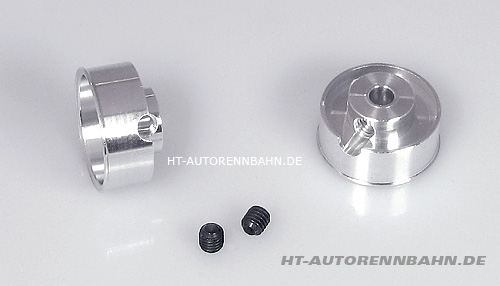 Aluminium wheels racing 14,5x6mm, for 3mm axle
