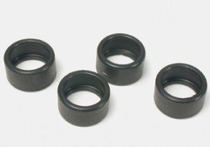 Slot It front tires zero grip 15,5x8mm, 4pcs